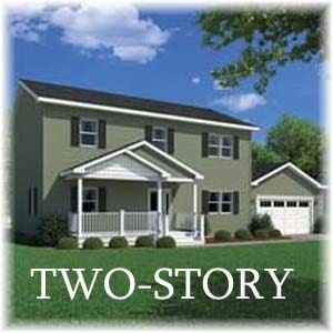 Two Story Homes - Carriage Custom Homes