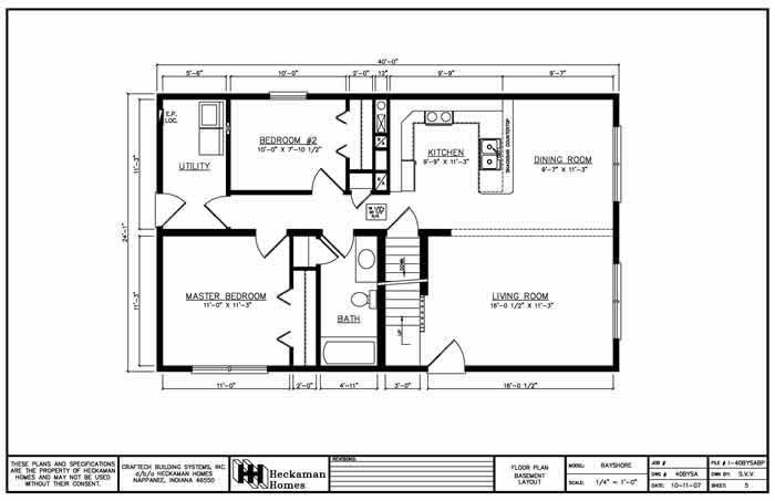 Carriage custom homes selling quality heckaman homes for Free finished basement plans