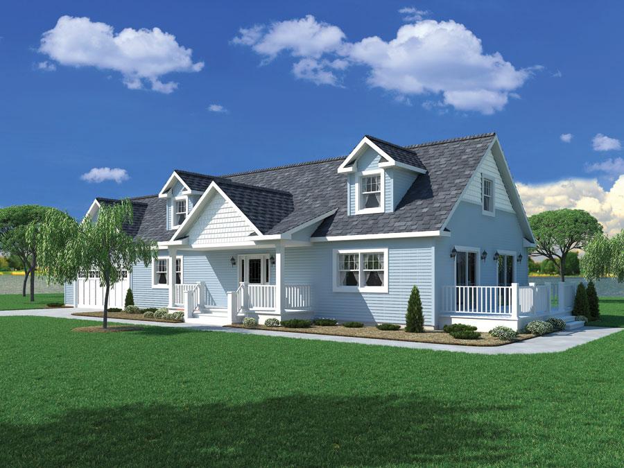 Carriage custom homes modular homes northern michigan for Modular carriage house
