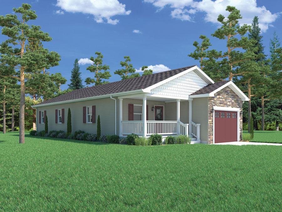 Carriage custom homes modular homes northern michigan for Custom ranch homes